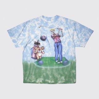 94's grateful dead golf skull tee
