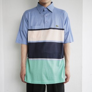 [40%OFF]old lacoste border polo h/s