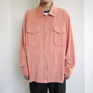 old pile zipped jacket