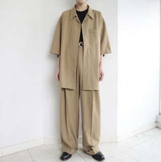old open collar loose h/s set up