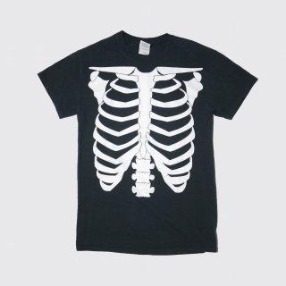 old glow print bone tee