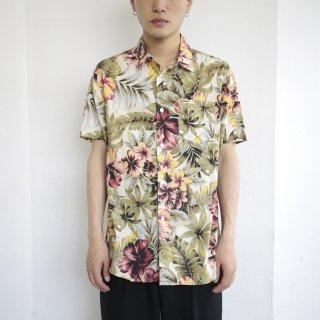 [30%OFF]00's stussy aloha shirt