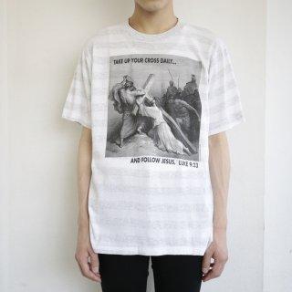 [40%OFF]90's art tee , body-screen prints
