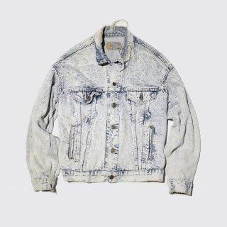 vintage levi's chemical wash tracker jacket