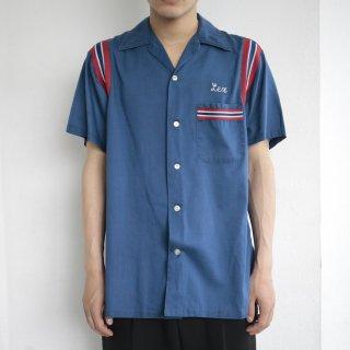 [40%OFF]vintage hilton bowling shirt