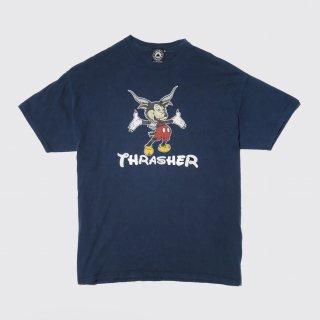 thrasher mickey parody tee