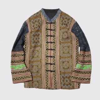 vintage broderie kung fu jacket
