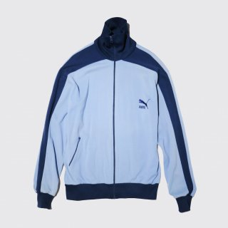 vintage euro puma jersey track jacket