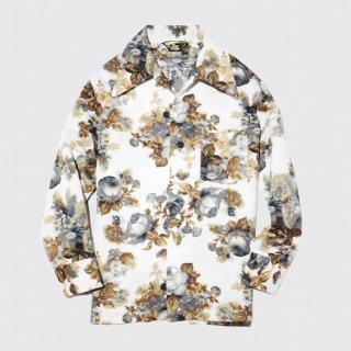 vintage flower poly shirt