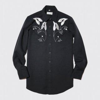 vintage broderie western shirt