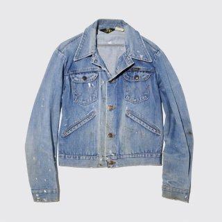 vintage wrangler dirty trucker jacket