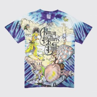 90's allman brothers band tour tee , body-wild outs