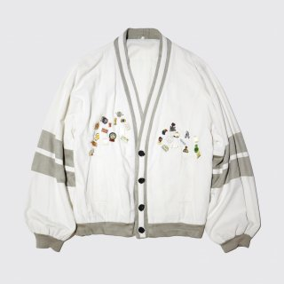 vintage custom cotton cardigan