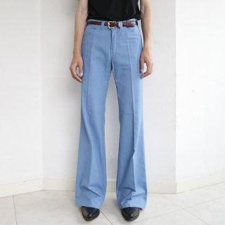 vintage flare cotton trousers