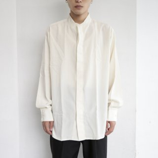 old collar less fly flont shirt