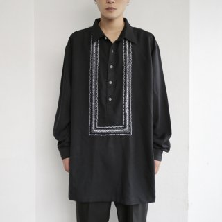 old loose broiderie shirt