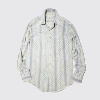 vintage flower l/s shirt