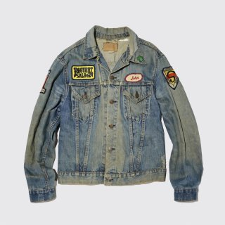vintage custom trucker jacket