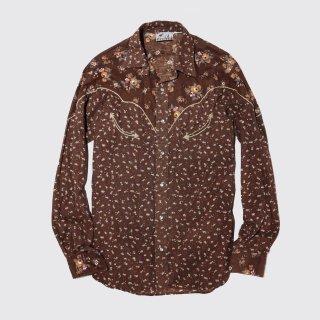 vintage flower western shirt
