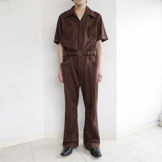 vintage h/s poly jumpsuit