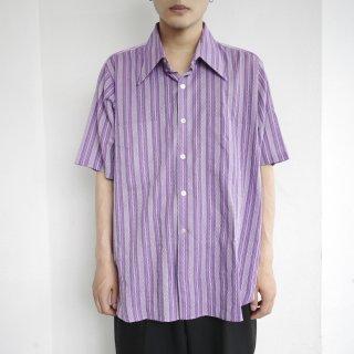 vintage stripe h/s shirt