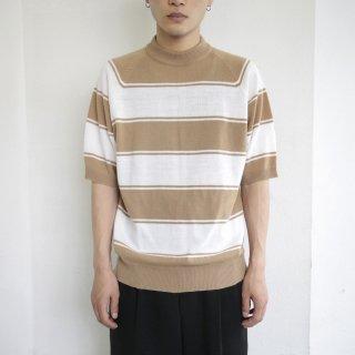 vintage border knit h/s