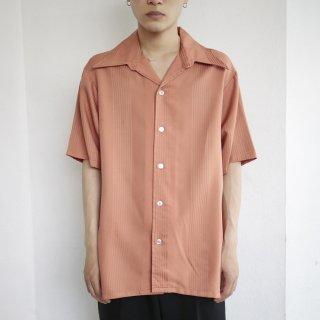 vintage stripe poly h/s shirt