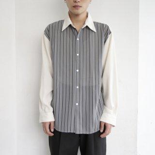 old stripe poly l/s shirt
