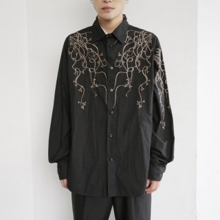 old broiderie l/s shirt