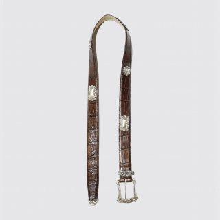 vintage metal western belt