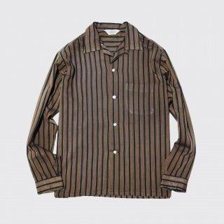 vintage compass stripe o/p shirt