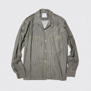 vintage towncraft stripe o/p shirt