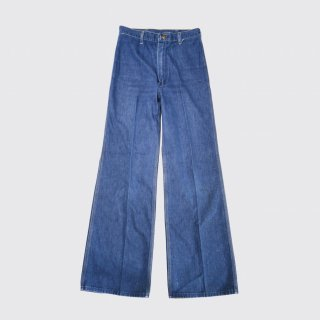 vintage wrangler wide flare jeans