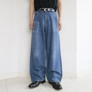 [40%OFF]old fade 5p buggy jeans