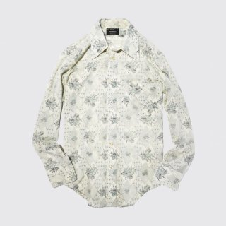 vintage JCPENNY flower shirt