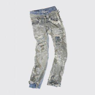 vintage craft jeans, body-60's Levi's 501ZXX + 90's Levi's 501USA