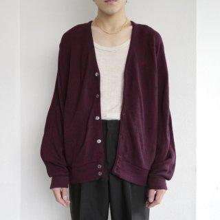 old usa acrylic cardigan
