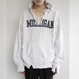 boro custom hoodie , body-gray bear , reverse type
