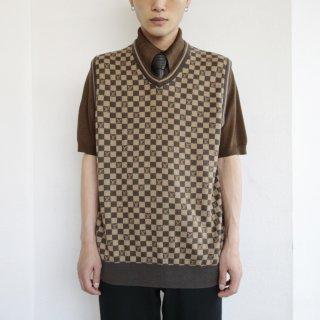 old bootleg knit vest