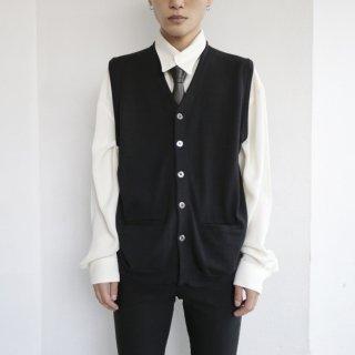 old jhon smedley knit gillet vest