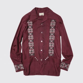 vintage broiderie mexican shirt