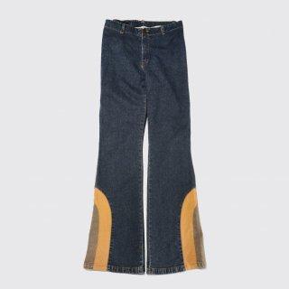 vintage combi flare jeans