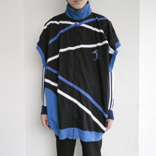 old taping oversized vest