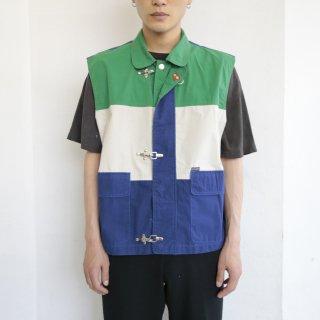 old tricolor fireman vest