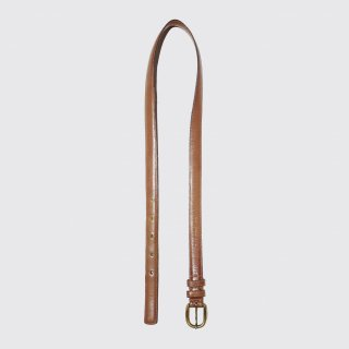 vintage narrow lether belt