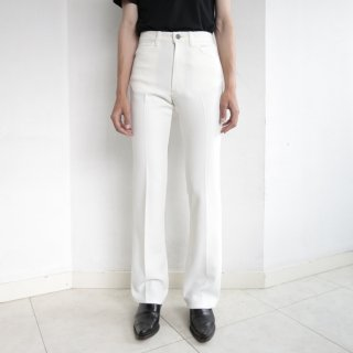 [40%OFF]vintage flare trousers , dead stock