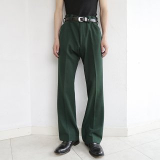 vintage poly trousers