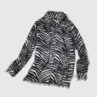 vintage zebra shaggy shirt