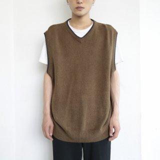 old cotton knit vest