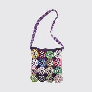 vintage hand crochet bag